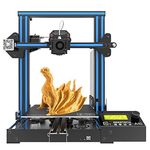 GIANTRAM A10 Impresora 3D Prusa I3 tiene un área de impresión de 220 × 220 × 260mm
