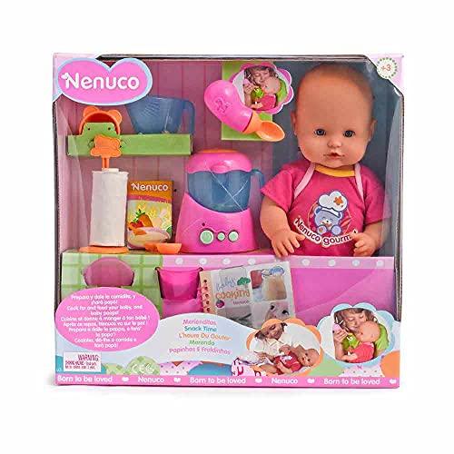 Nenuco Merienditas (muñeco con accesorios)