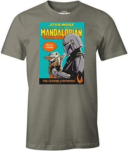 Camiseta Licencia Oficial -The Mandalorian- XXL.