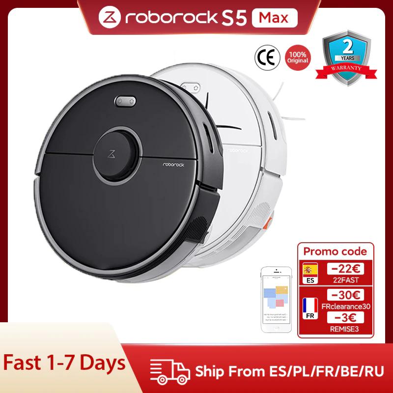 Roborock S5 Max Vacuum Cleaner - Desde España