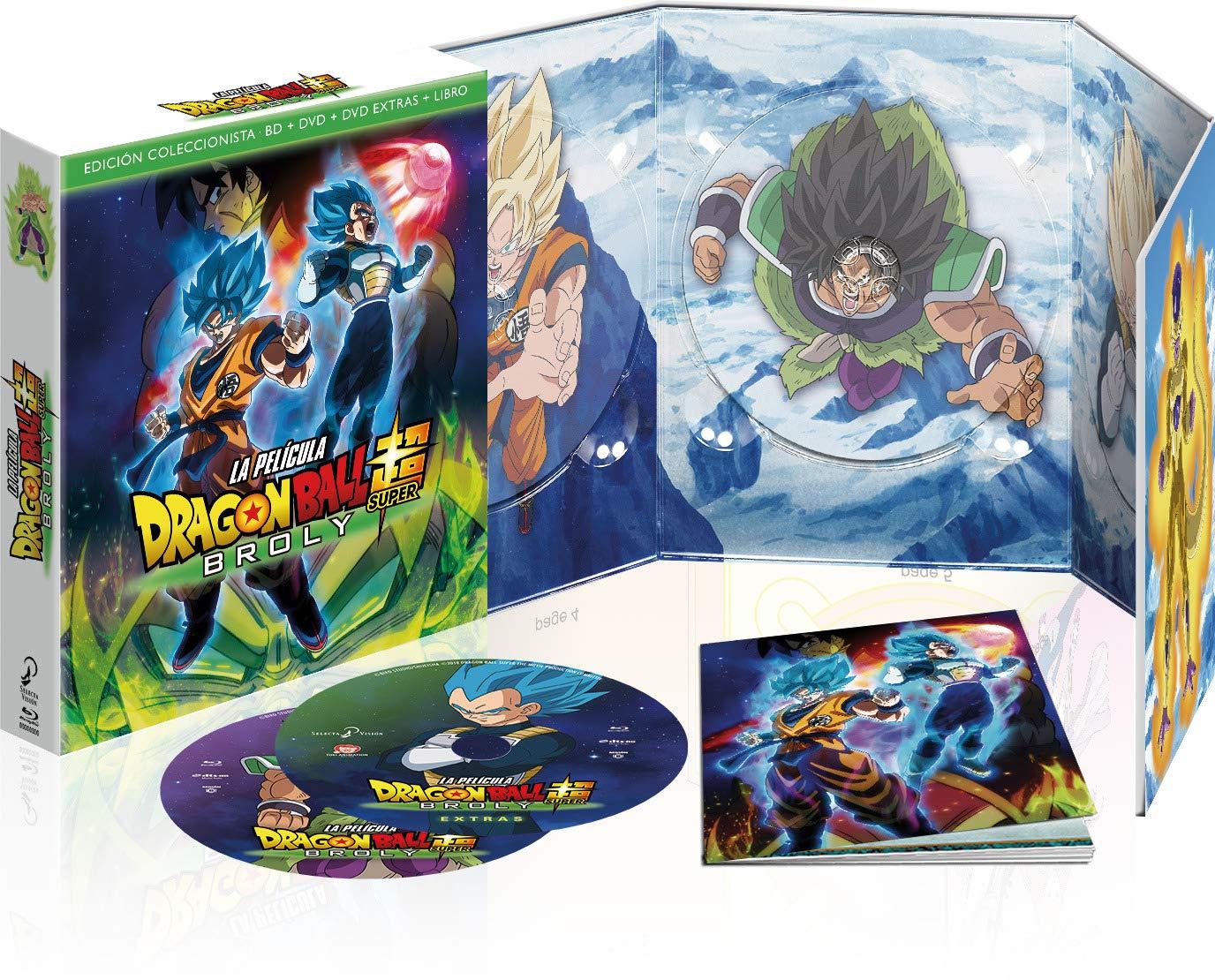 Dragon Ball Super Broly Blu-Ray - Edición Coleccionista + Ofertas Dragon Ball