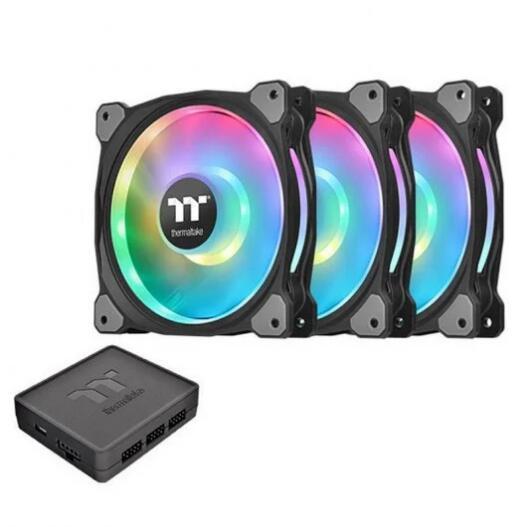 Thermaltake Riing Duo 12 RGB Radiator Fan TT Premium Edition