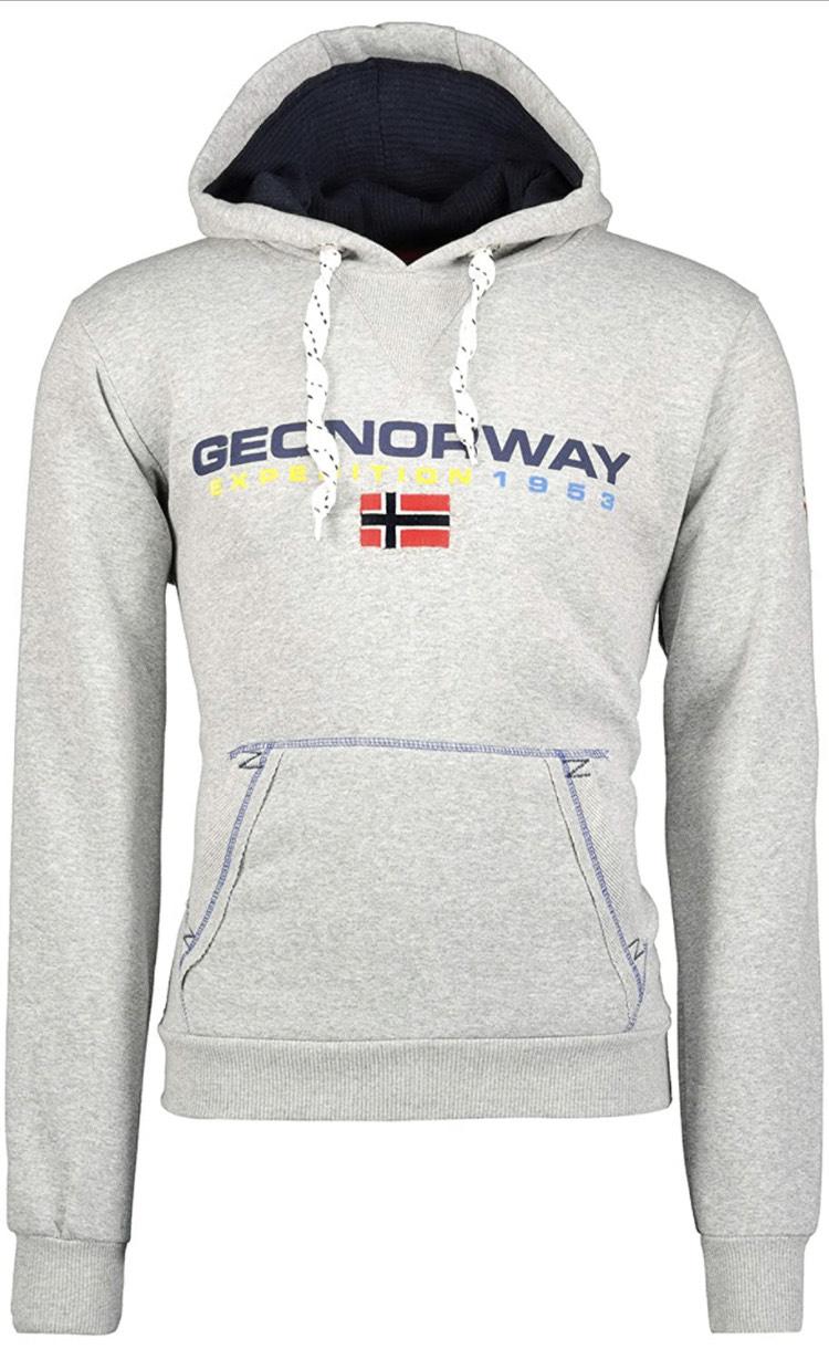 Sudadera Geo Norway hombre todas las tallas (azul y negro en descripción)