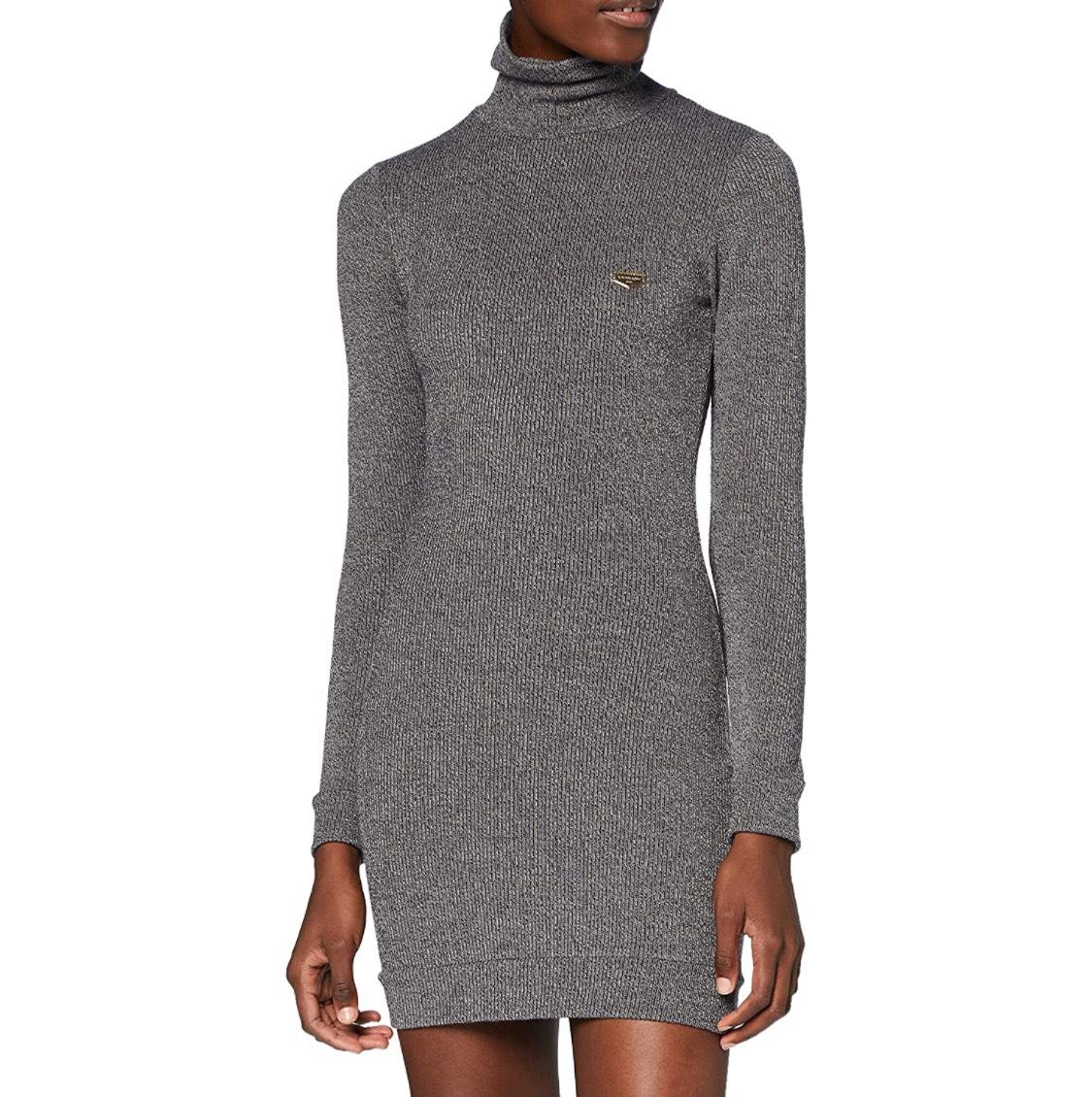 Vestido corto con cuello vuelto Gianni Kavanagh mujer talla M (S a 13,19€)