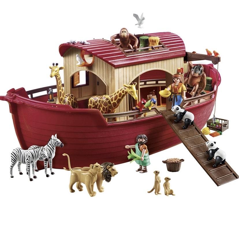 Playmobil - Wild Life: Arca de Noé Conjunto de Figuritas,