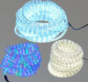 67 luces led navidad manguera decoracion luz for Luces de navidad para exteriores