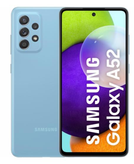 Samsung Galaxy A52, 6GB de RAM + 128GB