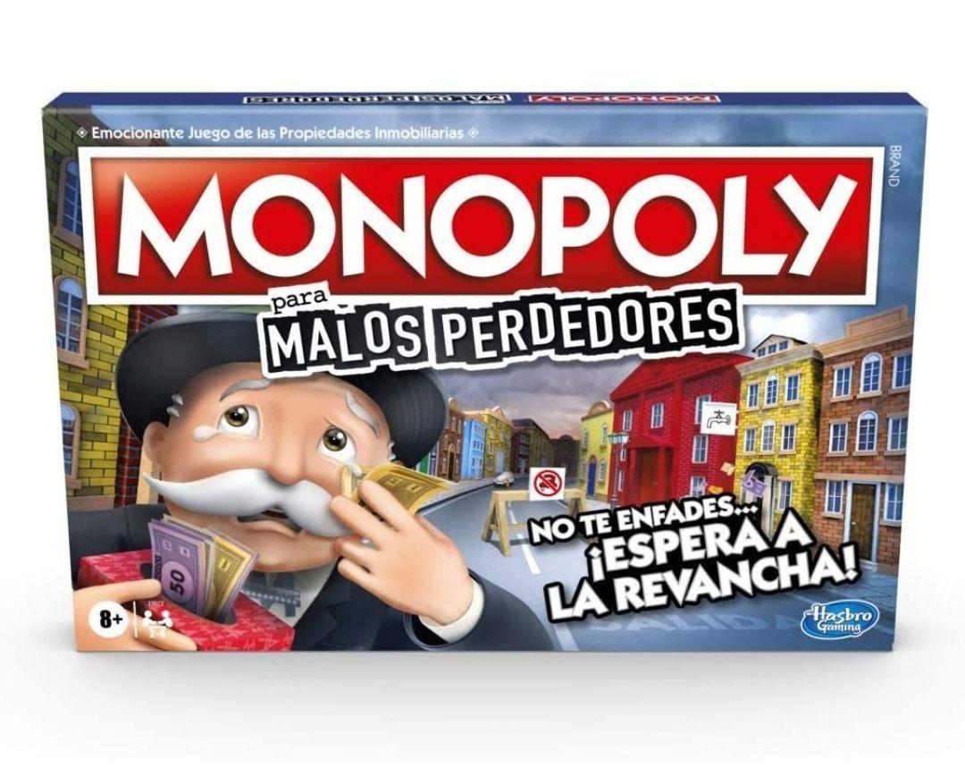 Monopoly Juego De Mesa Malos Perdedores
