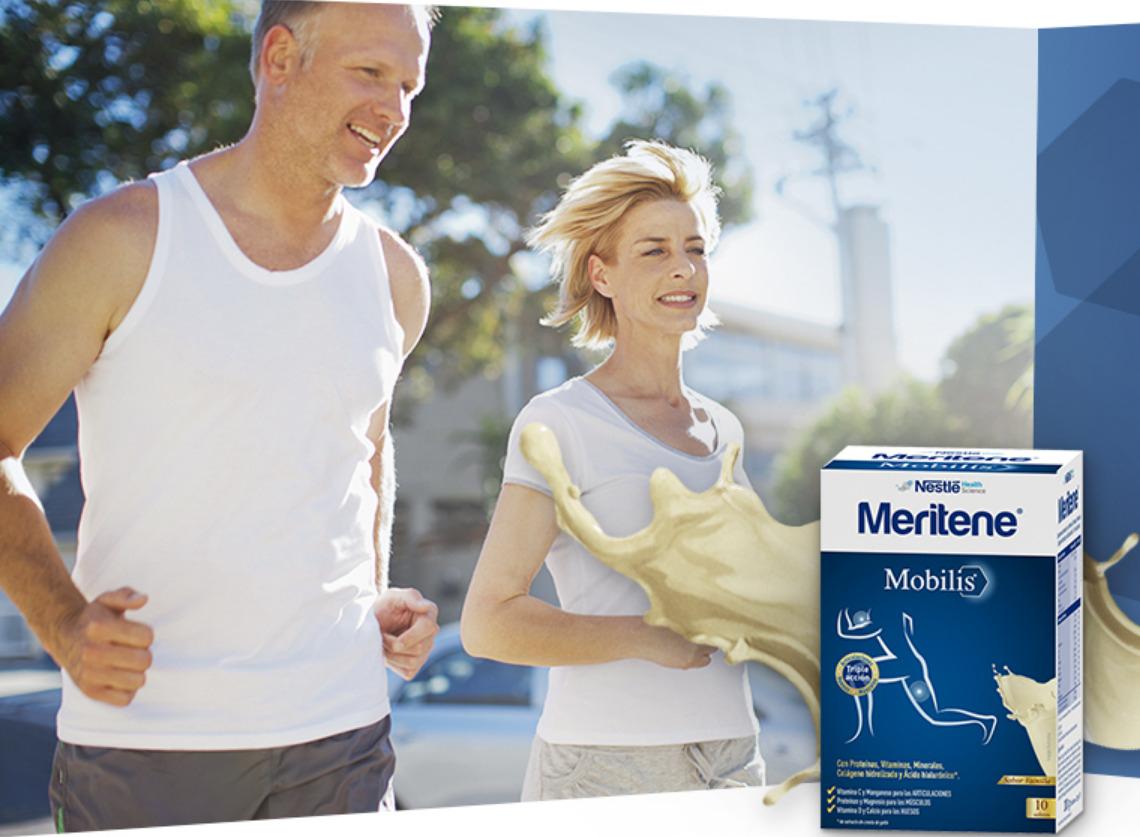 """Muestras gratis de Nestle Meritene """"Mobilis"""" y """"Fuerza y Vitalidad"""""""