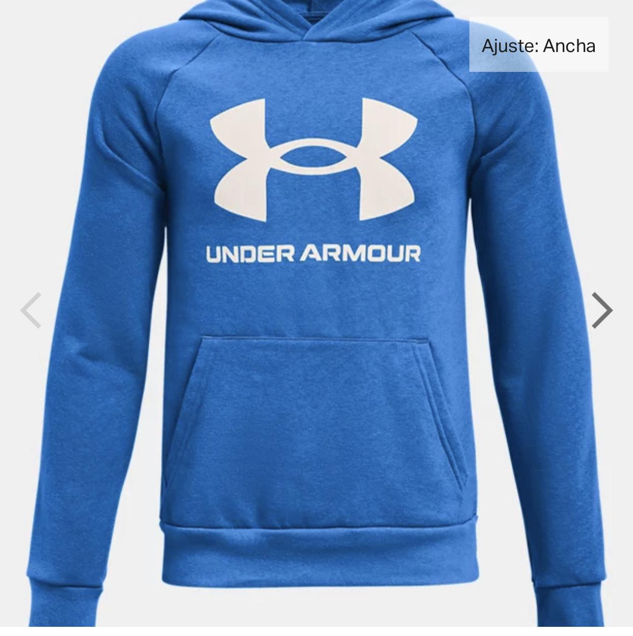 Sudadera niño con capucha de tejido Fleece UA Rival Big
