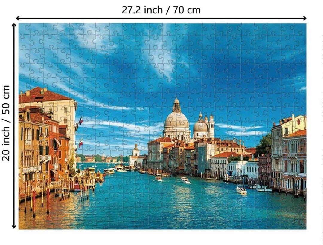 Puzzle 1000 Piezas - Venecia Canal de Italia