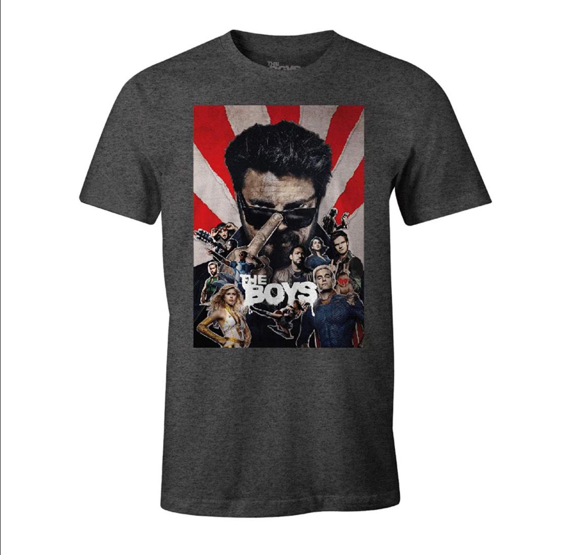 """Camiseta """"The Boys"""" (producto con licencia oficial) talla XL"""