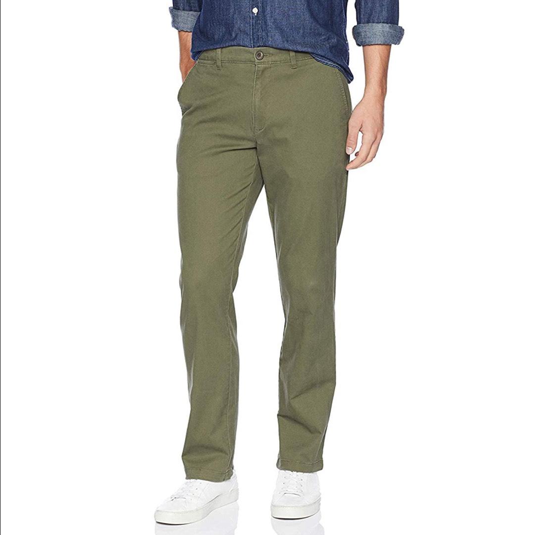 Pantalón tipo chino hombre talla 33W/34L (42)