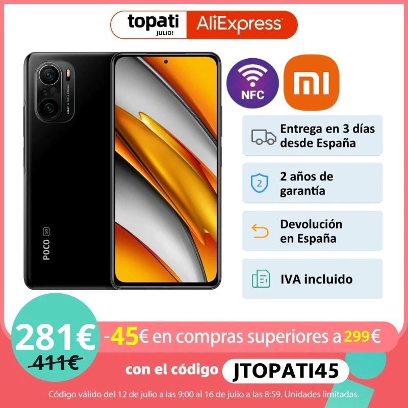 Poco f3 128 gb envio desde España ALIEXPRESS PLAZA