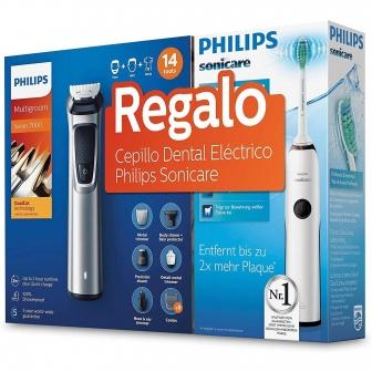 Multigroom Philips MG7720 + Cepillo Dental HX3212 + 20% acumulación ChequeAhorro