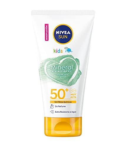 NIVEA SUN Crema Solar Niños Mineral FP 50+ 150 ml