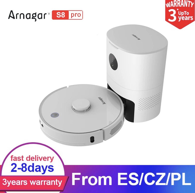 Arnagar - Robot aspirador S8 Pro (desde España)
