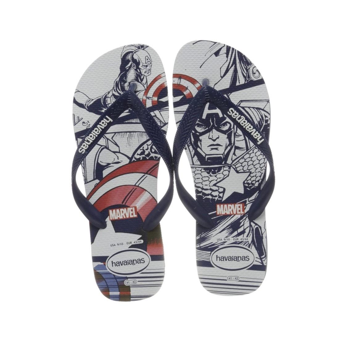 Chanclas Havaianas Marvel Captain America | Tallas 23 a 45