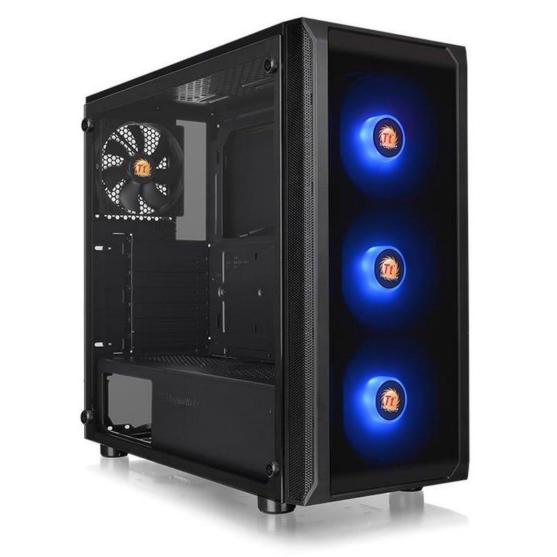 Thermaltake Versa J23 TG RGB Edition USB 3.0 Cristal Templado