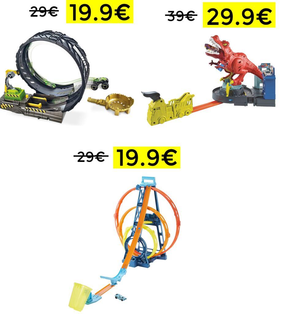 Bajada de precio en selección Hot Wheels (Ej: Monster Trucks)