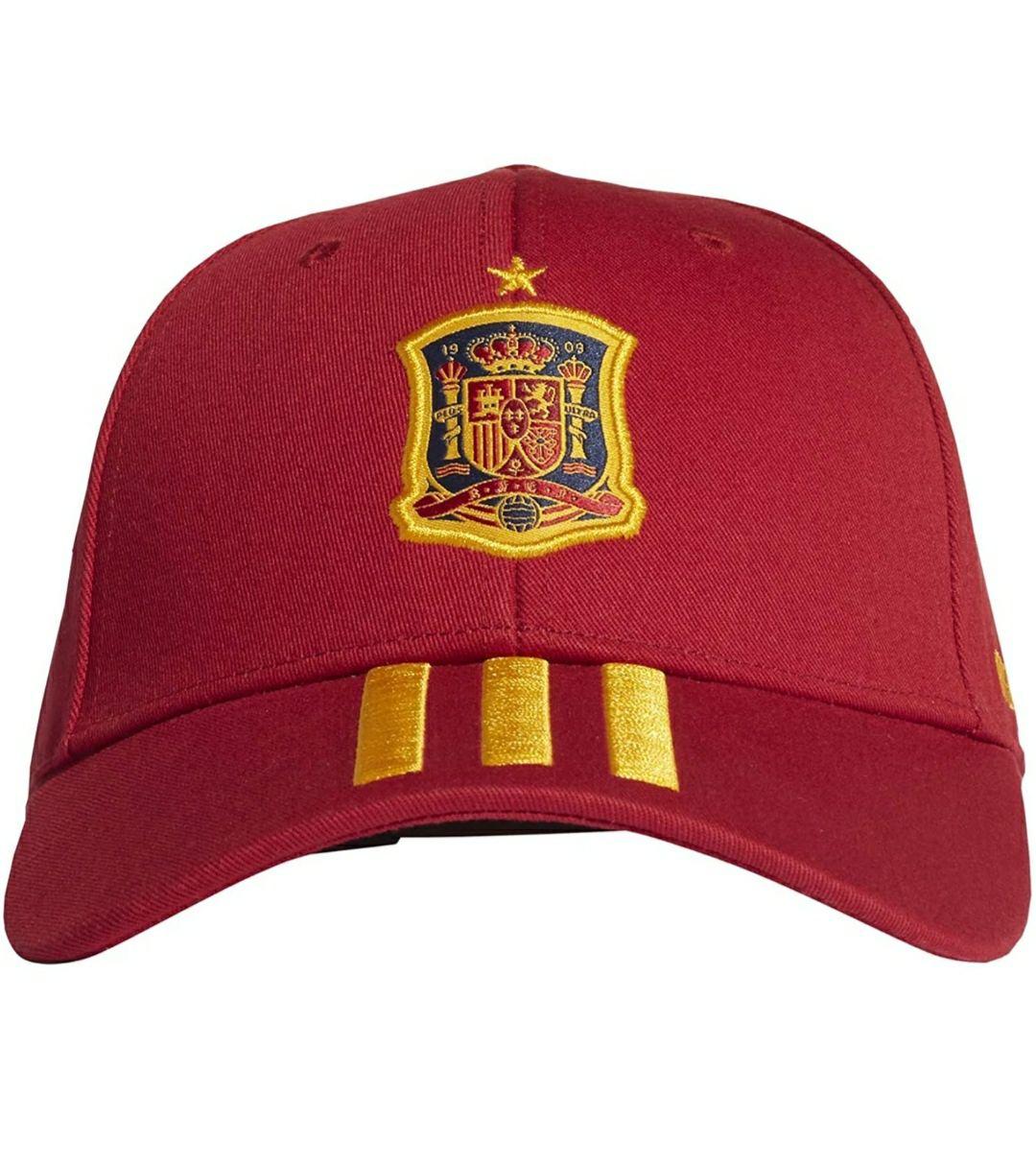 Gorra unisex Adidas roja Adulto selección española. También en blanca