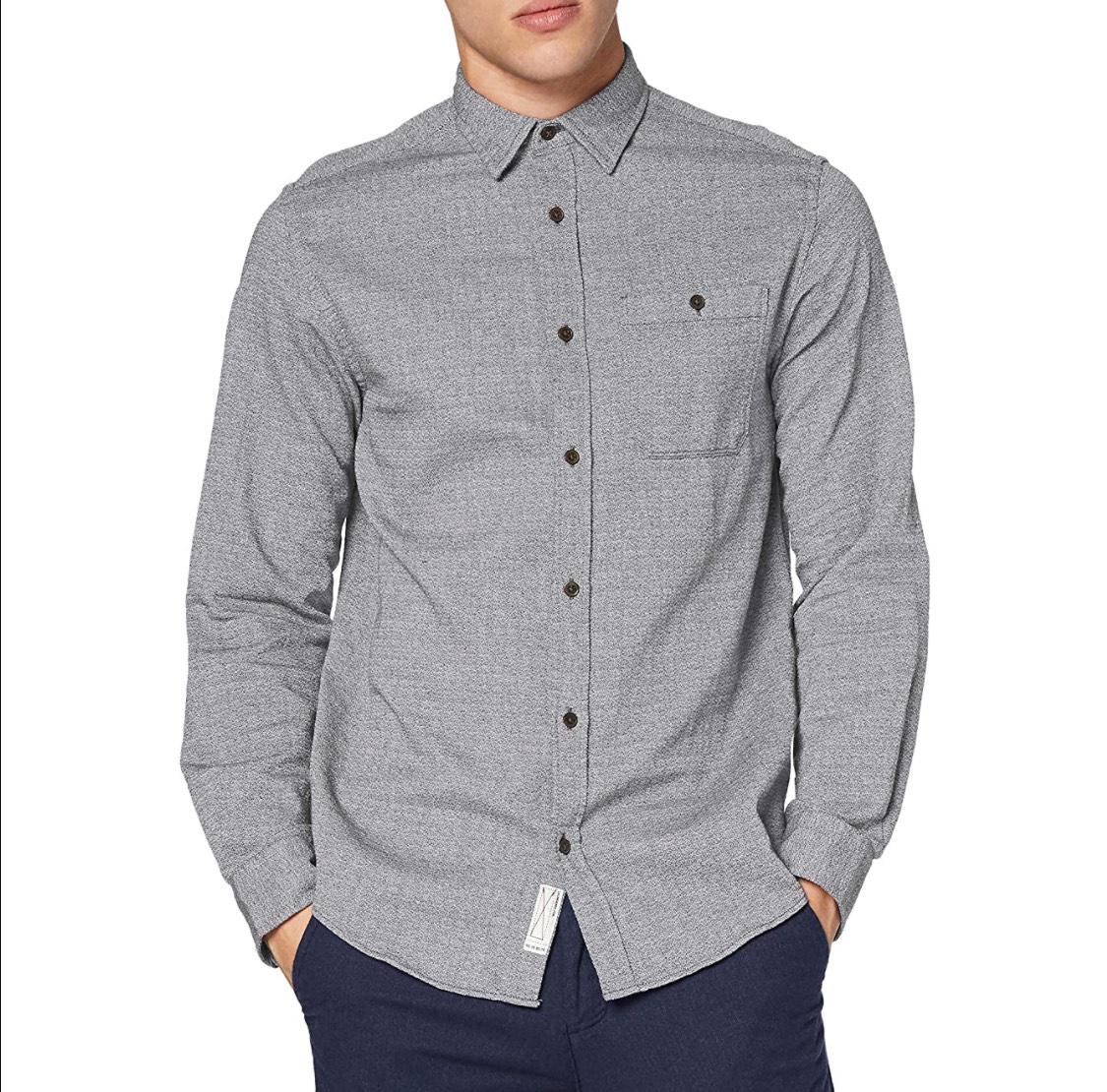 Camisa Jack & Jones adulto talla M (azul S a 7€ y azul XL a 7,41€)