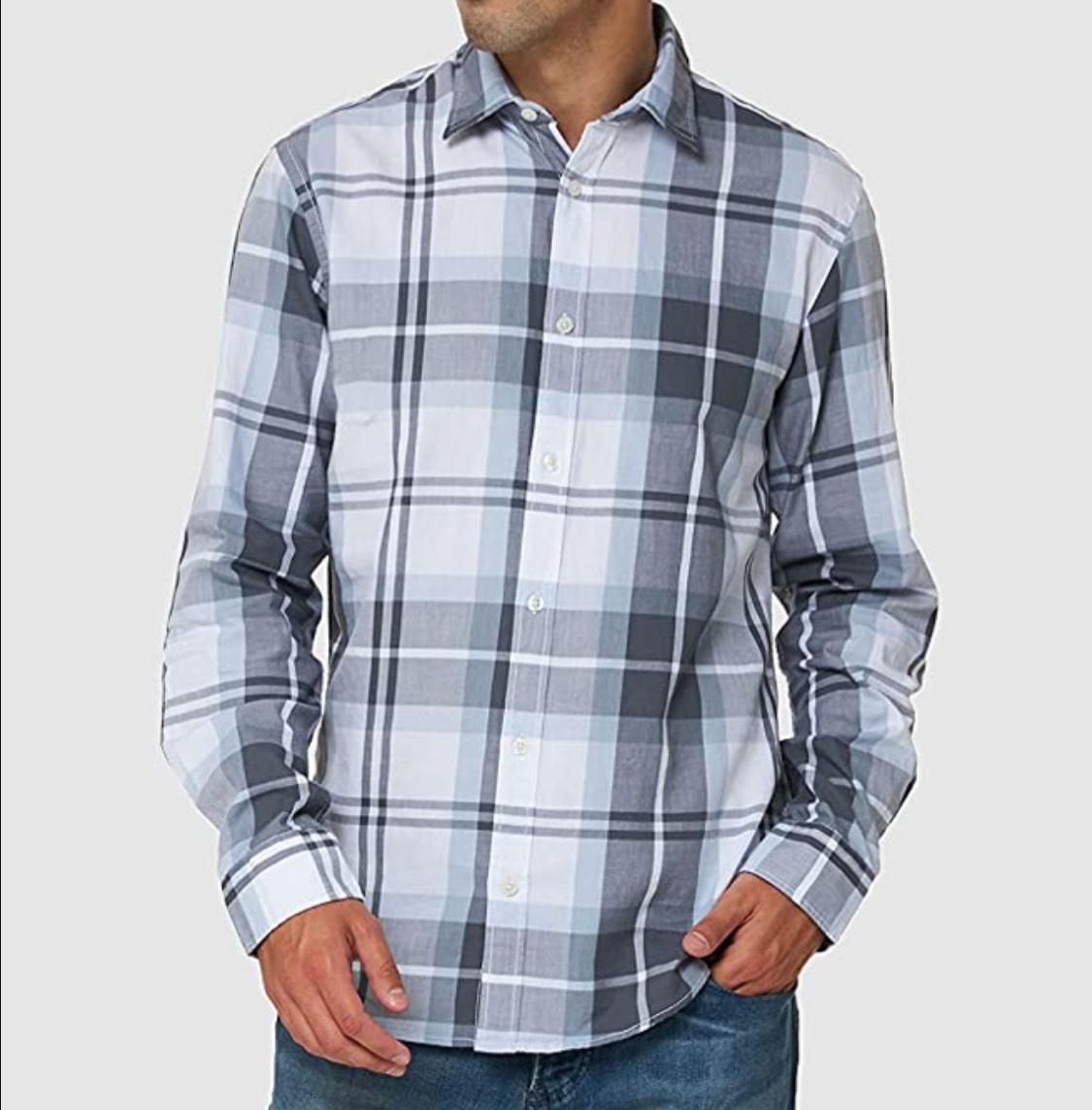 Camisa Jack & Jones adulto talla M (Naranja M a 7,58€ y Blanco S a 9,91€)