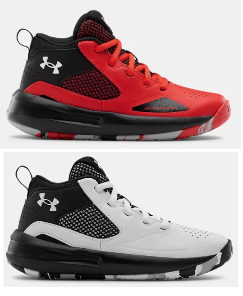 En 2 Colores - TALLAS 27.5 a 35 - Zapas de Basket Pre-School UA Lockdown 5