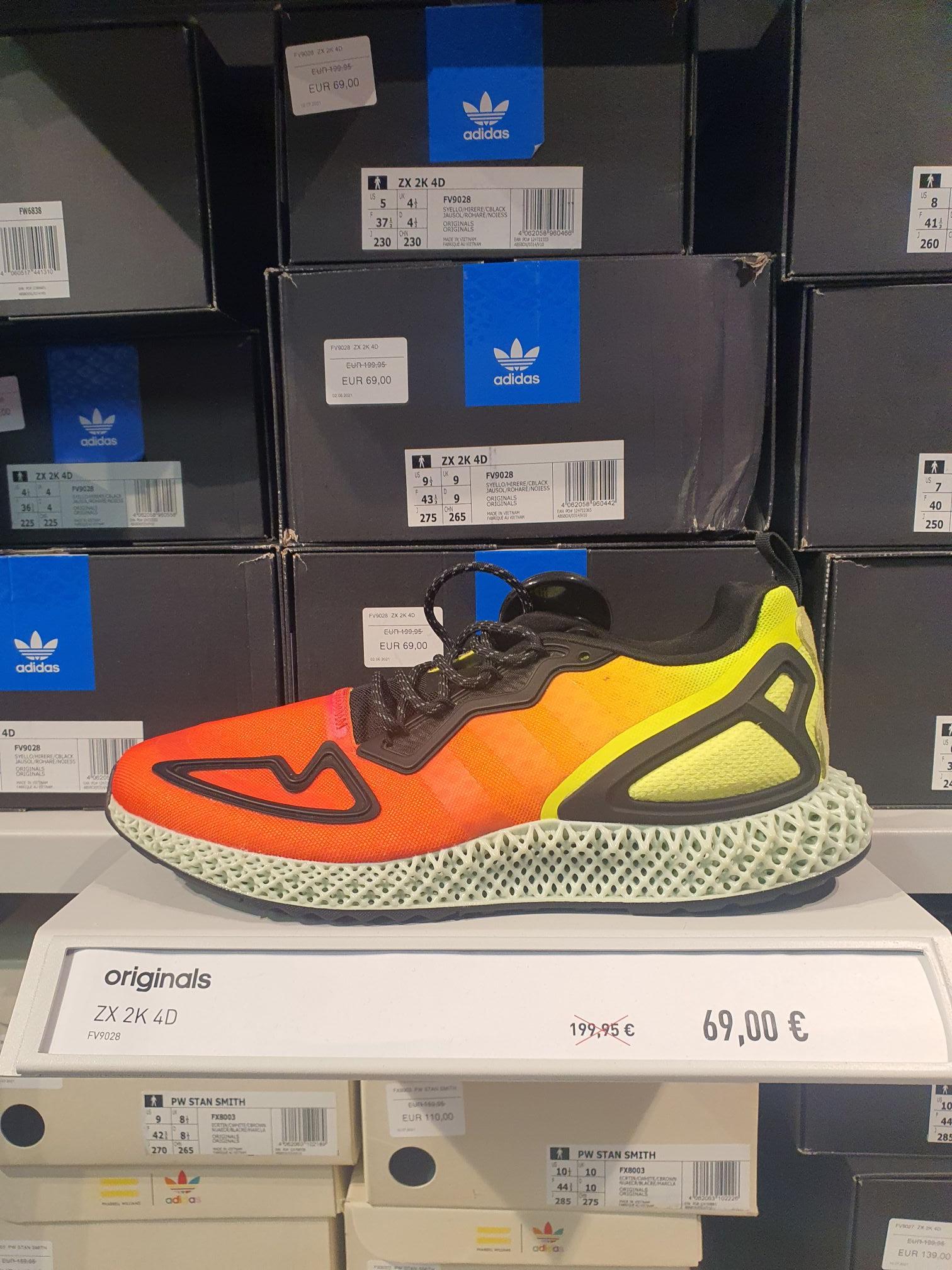 Zapatillas Adidas ZX 2K 4d - c c. las rozas outlet factory