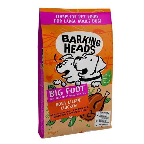 Barking Heads for Large Breeds - Bowl Lickin' Chicken, perros, 12kg