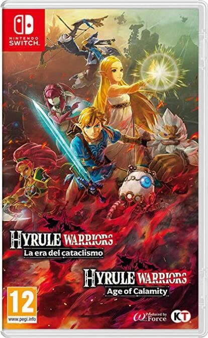 Hyrule Warriors: La era del cataclismo (Alcampo Leganés) [Nintendo Switch]