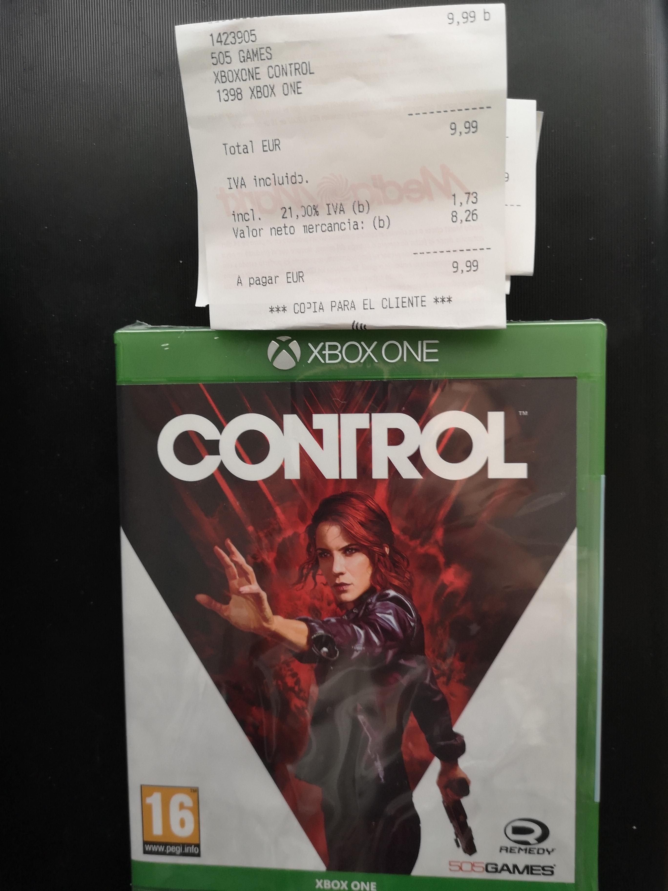Control (xbox one) en Mediamarkt Valladolid