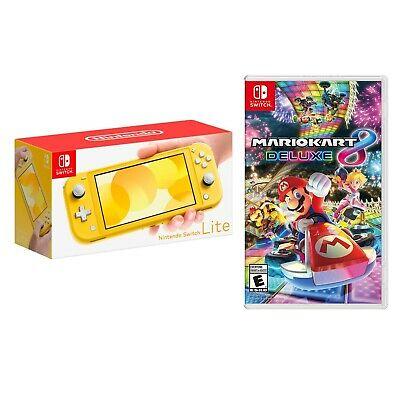 Nintendo Switch Lite + Mario Kart Deluxe 8 (Varios colores)