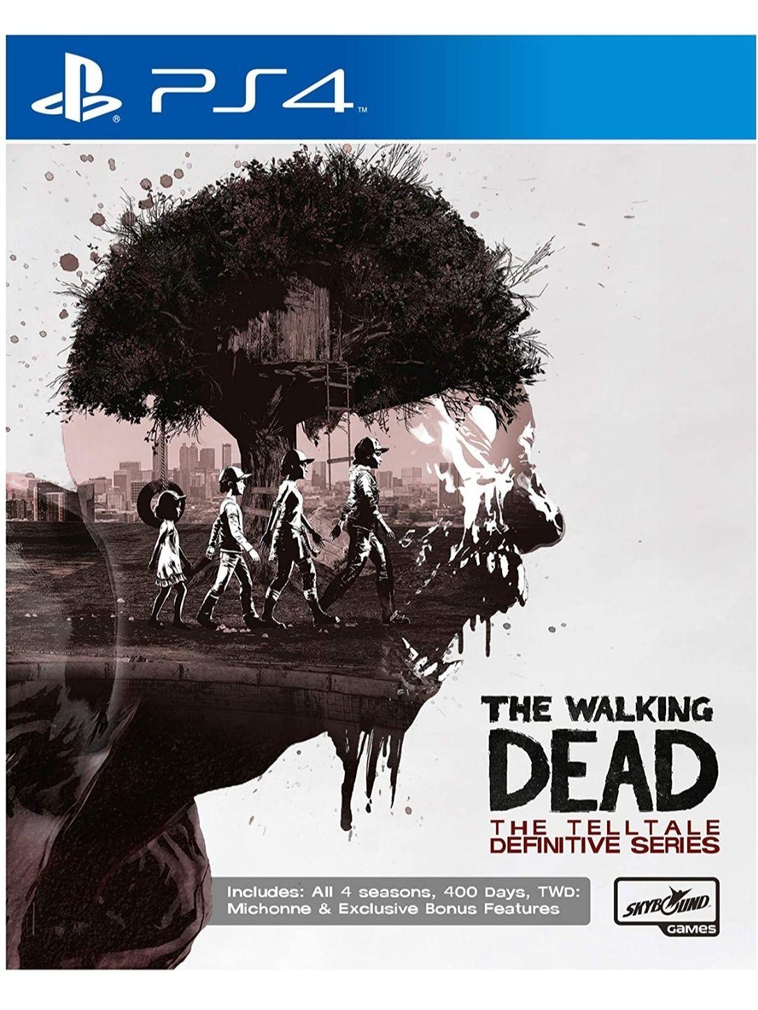 The Walking Dead The Telltale Definitive Series (PS4)