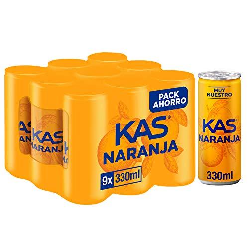 Pack 9 latas Kas Naranja