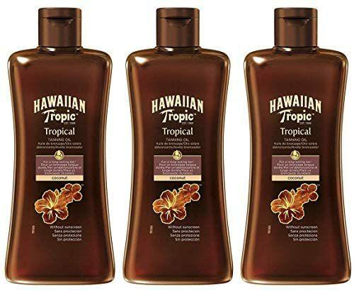 3 botes de aceite bronceador HAWAIIAN Tropic (4,84 €/ud)