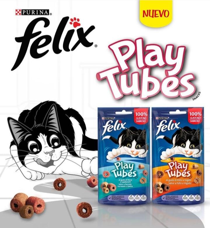 Purina Felix Play Tubes Gratis (Samplia)