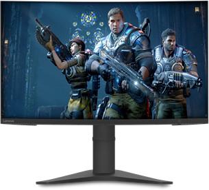 Monitor curvo para juegos Lenovo G27c-10 FHD WLED