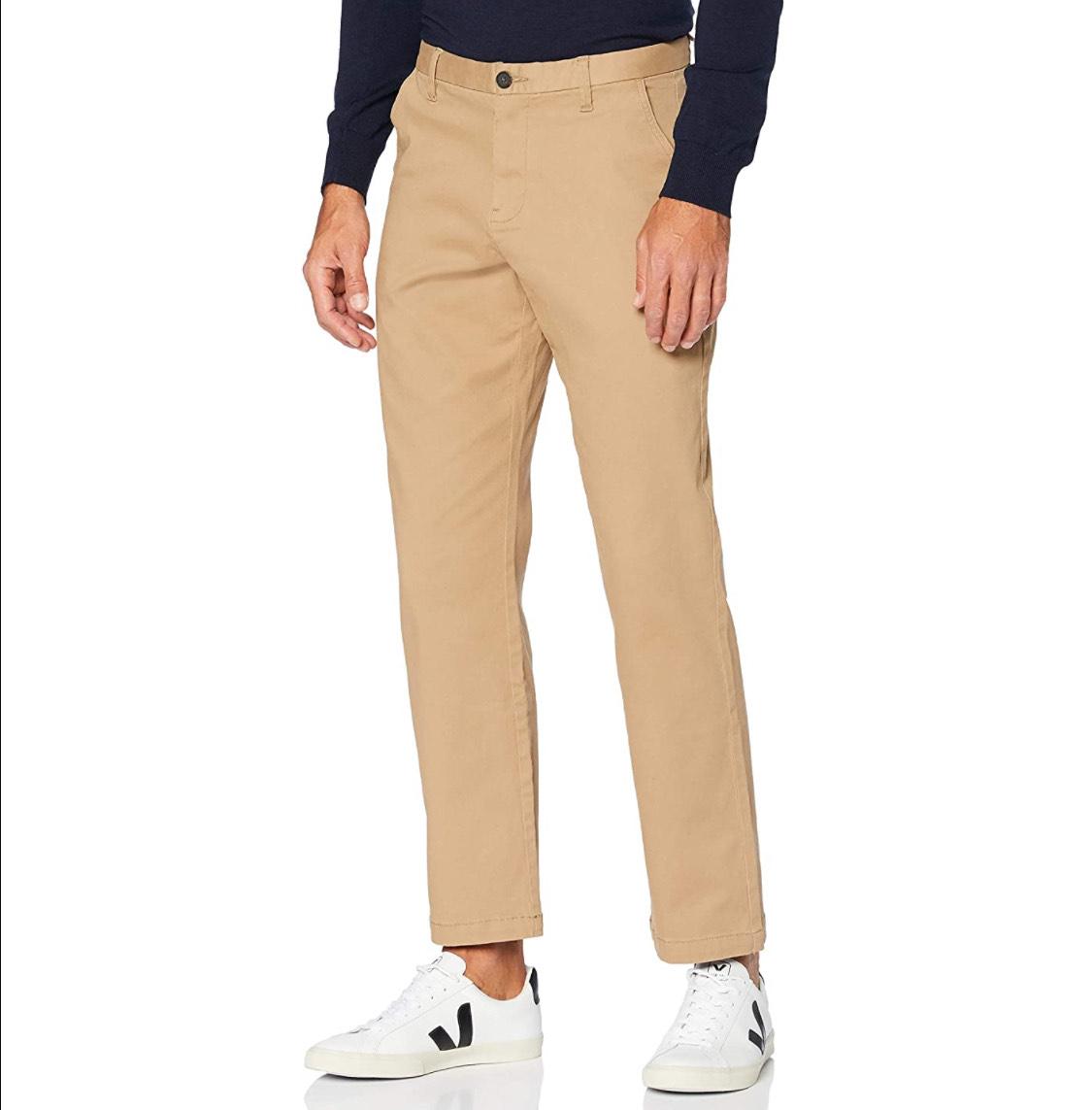 Pantalón tipo chino hombre talla 36W/32L (46)
