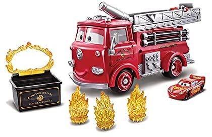 Disney Cars Camión Transportador de Coches