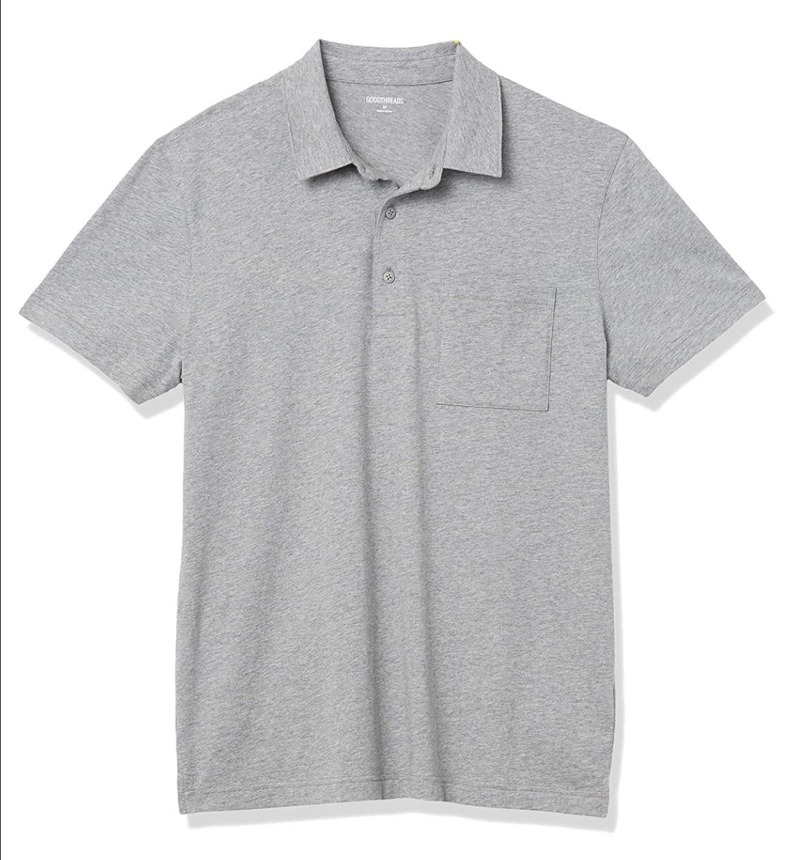 Polo bolsillo Goodthreads adulto talla S (Burdeos 5.92€, verde 6.80€)