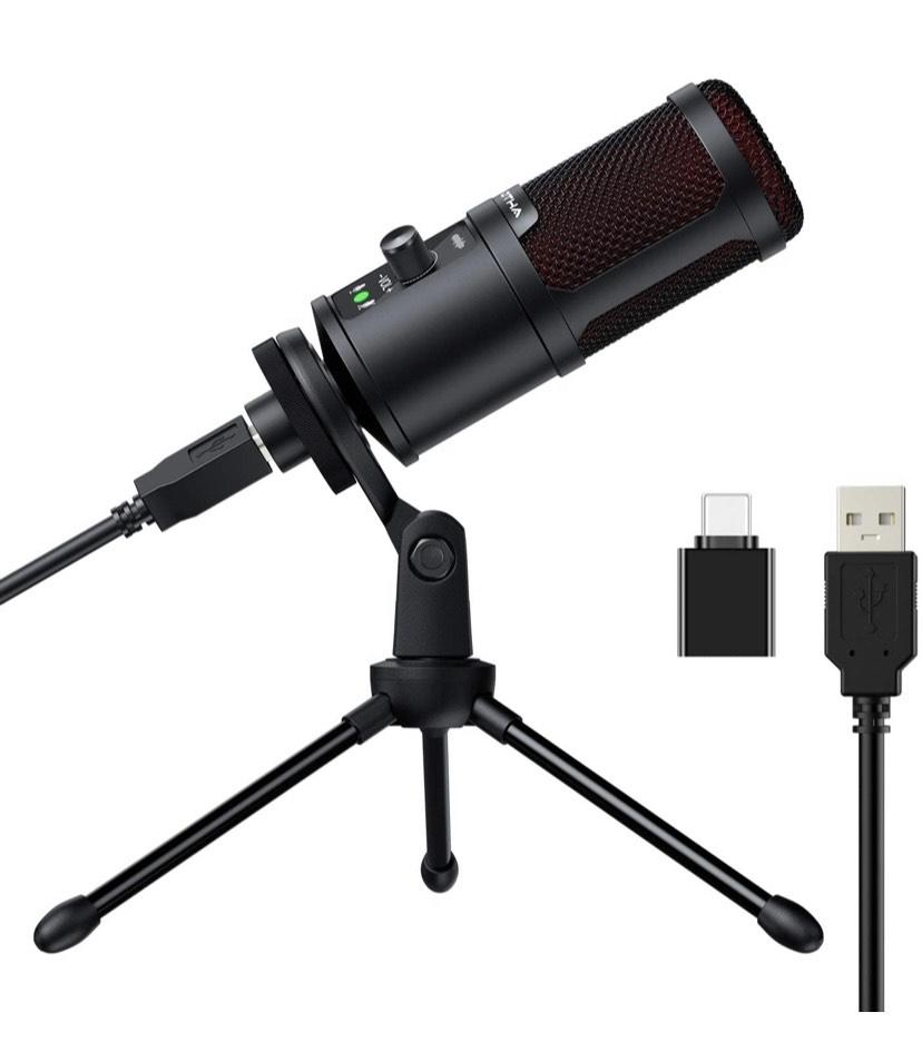 Micrófono de condensador USB