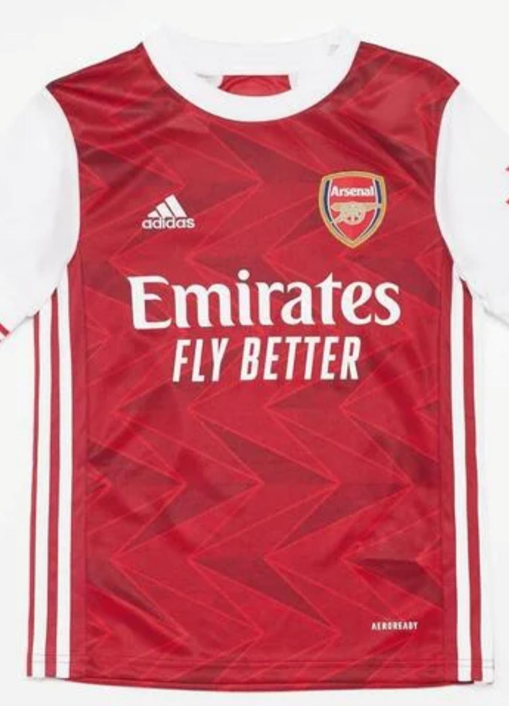 Camiseta Arsenal 20/21 para niñ@ talla 8