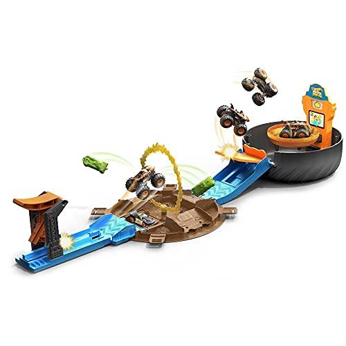 Hot Wheels - Ruedas de acrobacias Monster Trucks (Tb en ECI)