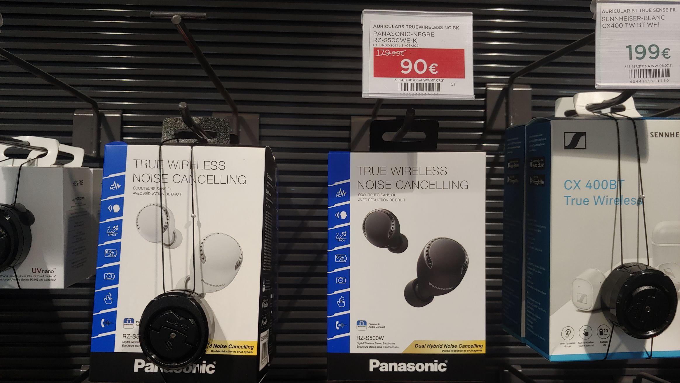 50% DESCUENTO!! Auriculares True Wireless con cancelacion dual de ruido.