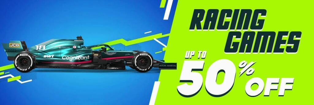 Racing Games Collection (desde 40 céntimos keys de juegos de coches para Steam)