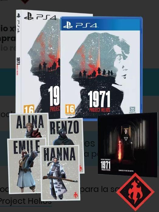 1971 Project Helios Edición Coleccionista ps4