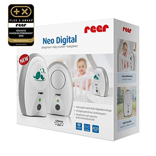 Vigilabebés Neo Digital (100% a prueba de audición, baja radiación, alcance de 250 m) REACO