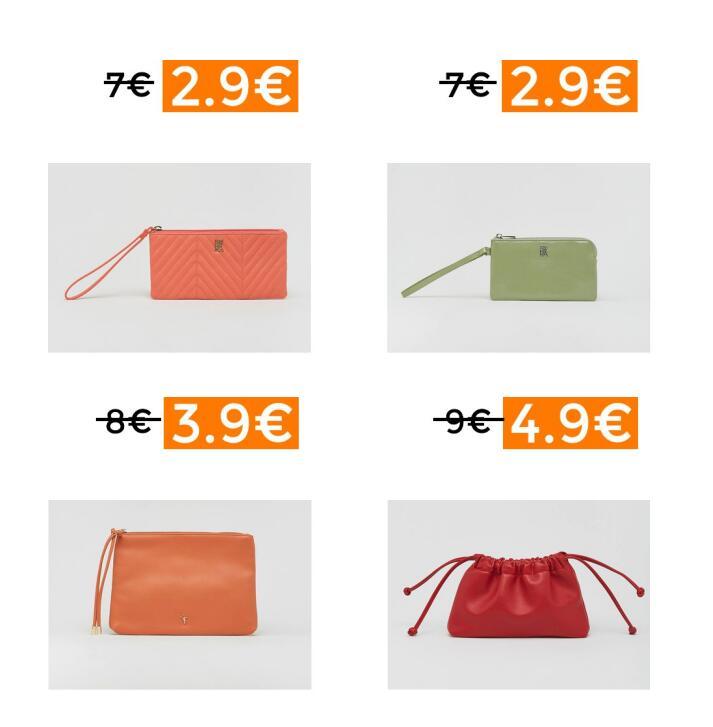 Preciazos en selección monederos y bolsos Sfera