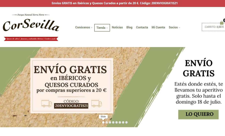 Envíos gratis en ibéricos y quesos curados en pedidos de 20€